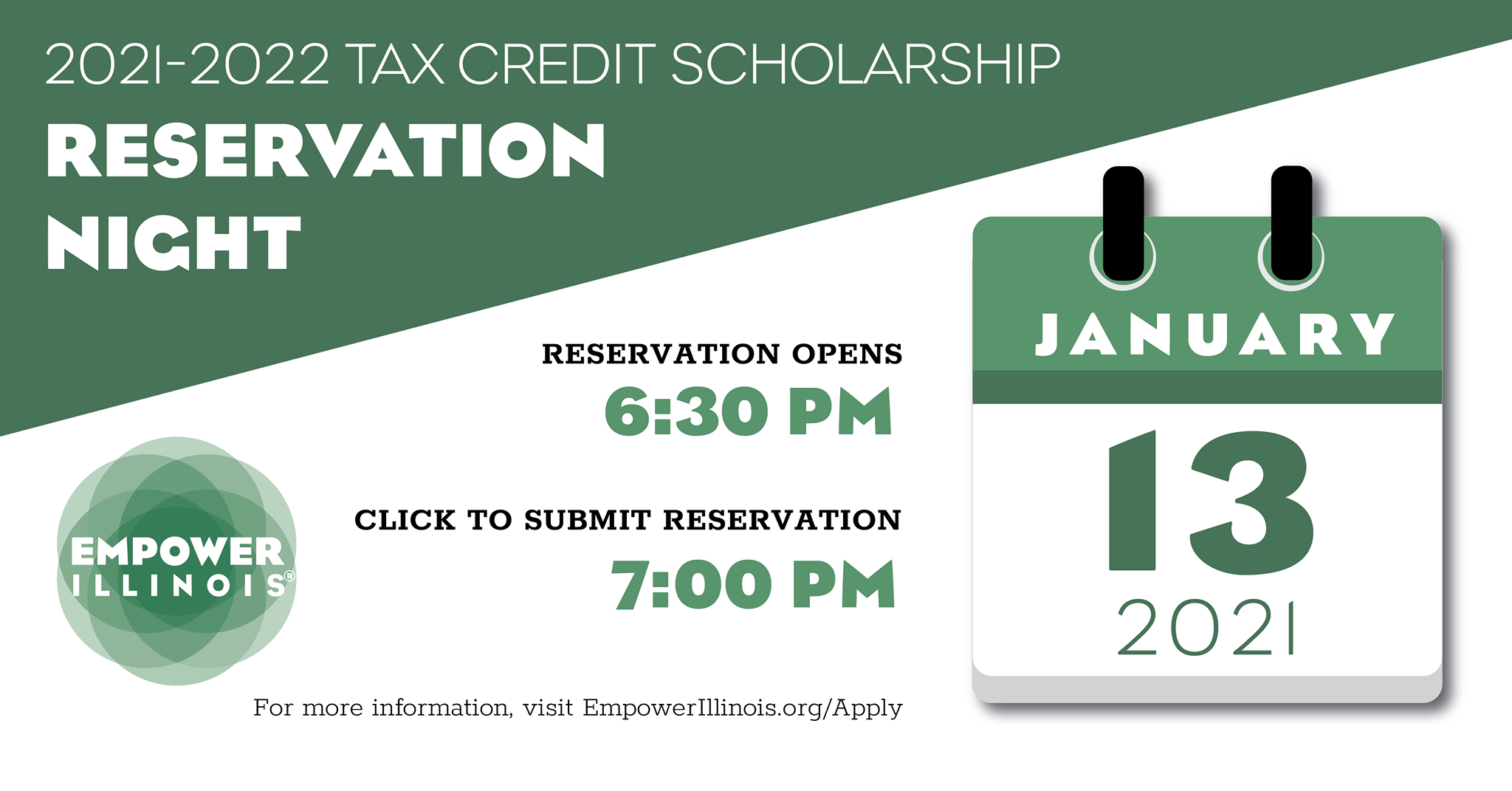 2021-22 Empower Illinois Tax Credit Scholarship Application