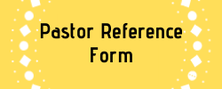 Pastor Reference Form