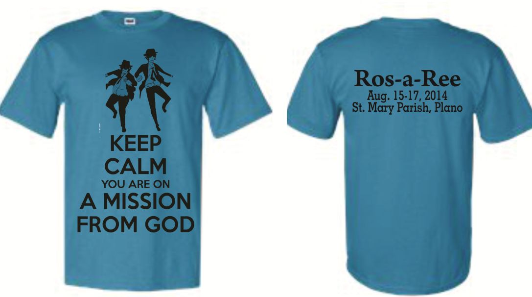 Ros-a-Ree T-Shirts - 2014